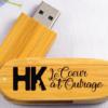 Clé usb spectacle HK Le Coeur à l'outrage (vidéo et bande son)